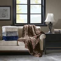 Carbon Loft Altmann Corduroy Plush Down Alternative Throw