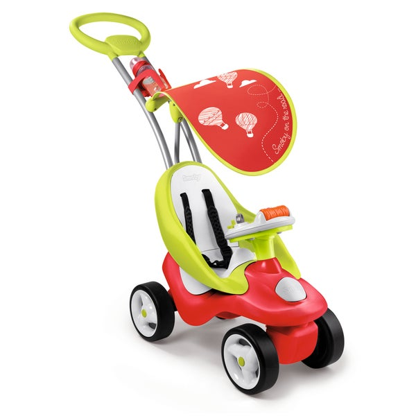 Smoby Bubble Go Red 2 in 1 Ride-On
