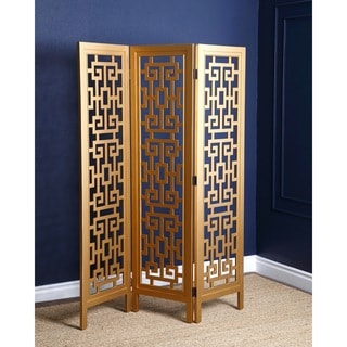 Abbyson Marseille Gold 3-piece Folding Screen