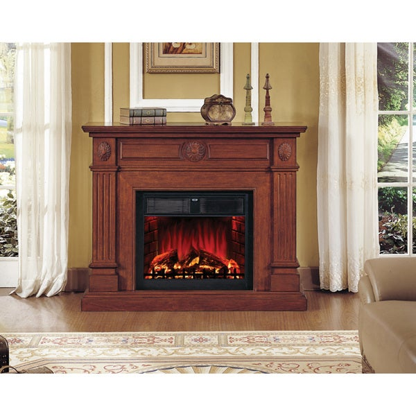 Hampton Fireplace With 28-inch Insert