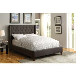 Coaster Company Furniture Owen Upholstered Bed (Grey)