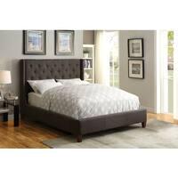 Coaster Company Furniture Owen Upholstered Bed (Grey)