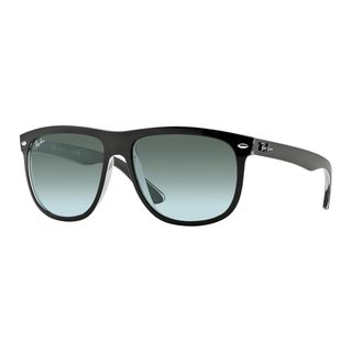 Ray-Ban Men's RB4147 603971 Black Plastic Square Sunglasses