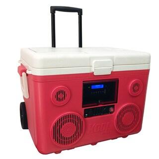 Tunes2Go KoolMAX Cooler Red