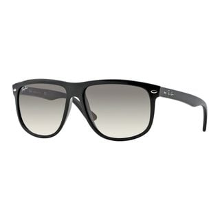Ray-Ban Men's RB4147 601/32 Black Plastic Square Sunglasses
