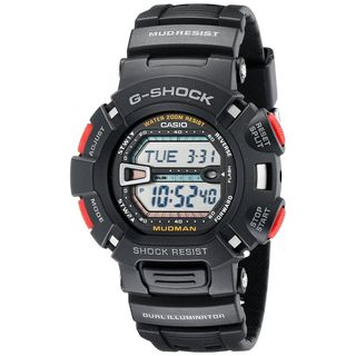 Casio Men's G9000-1V 'G-Shock' Digital Black Resin Watch