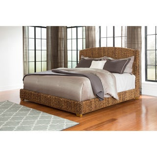 Coaster Company Woven Banana Leaf Home Bedroom Bed