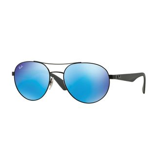 Ray-Ban Men's RB3536 Black Metal Phantos Sunglasses