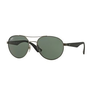 Ray-Ban Men's RB3536 Silver Metal Phantos Sunglasses