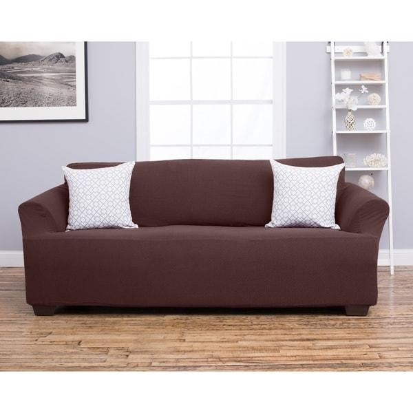 Amilio Collection Heavyweight Stretch Sofa Slipcover