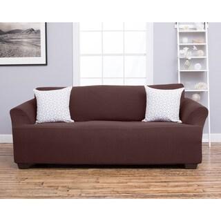 Home Fashion Designs Amilio Collection Heavyweight Stretch Sofa Slipcover