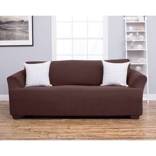 Amilio Collection Heavyweight Stretch Sofa Slipcover