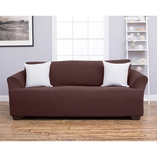 Home Fashion Designs Amilio Collection Heavyweight Stretch Sofa Slipcover