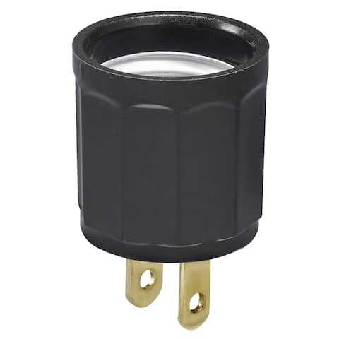 Leviton C21-00061-00I Ivory Adapter Outlet To Socket