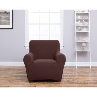 Home Fashion Designs Amilio Collection Heavyweight Stretch Chair Slipcover