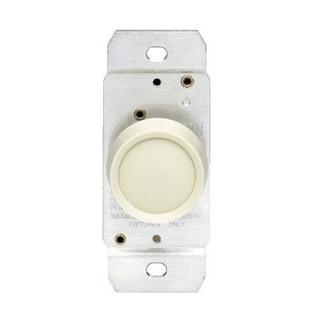 Leviton C22-00705-00W 120 Volt White Knob Rotary Dimmer