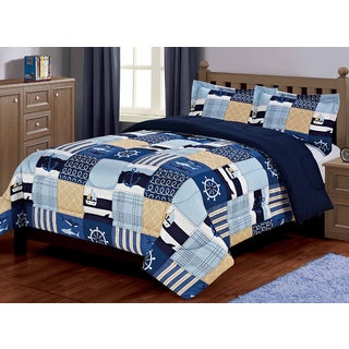 Sealife Oversized 3-piece Comforter Set