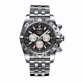 Breitling Men's AB0413B9-BD17 'Chronomat GMT' Chronograph Automatic Stainless Steel Watch