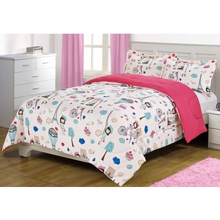 Bonjour Paris Oversized 3-piece Comforter Set