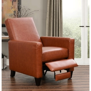 Abbyson Mila Pushback Bonded Leather Recliner