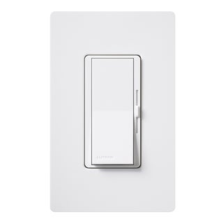 Lutron DVW-603PGH-WH Eco-Dim White Diva Dimmer