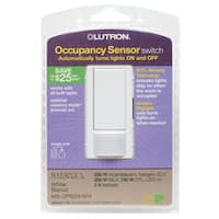 Lutron MS-OPS2H-WH White Occupancy Sensor Switch