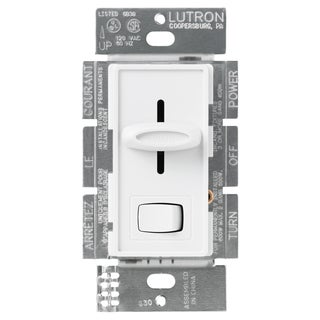 Lutron S-10PH-WH White Skylark Dimmer