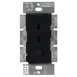 Lutron S-600PH-BL Black Skylark Dimmer