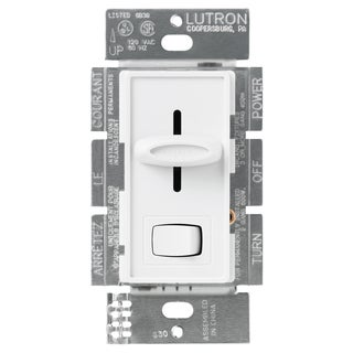 Lutron S-603PGH-WH White Eco-Dim Dimmer