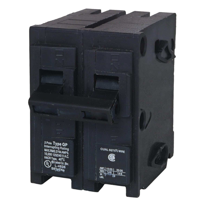 Siemens Q270 70 Amp Dual Pole Circuit Breaker (Switches&w...