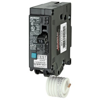 Murray MPA115AFCP 15 Amp 1P AFCI Circuit Breaker