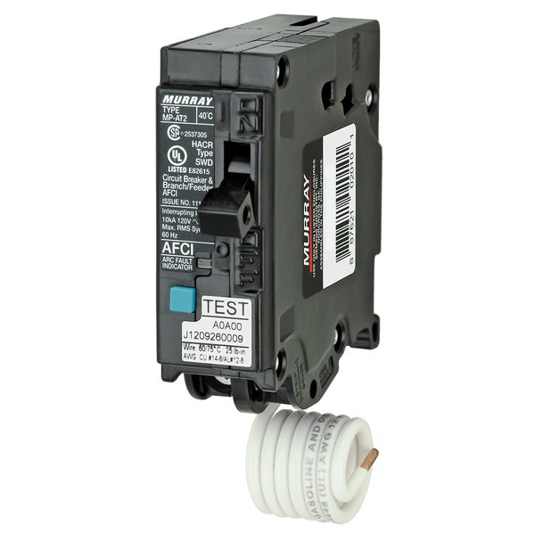 Shop Murray Mpa120afc 20 Amp 1p Afci Circuit Breaker Free Shipping