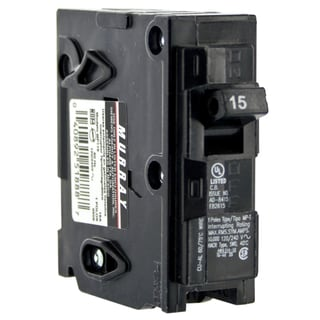 Siemens MP115 15 Amp Single Pole Circuit Breaker