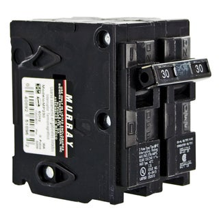 Murray MSQ Double Pole Circuit Breaker 30 amps Plug-In 120/240 volts 3 in. L