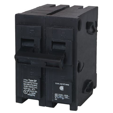 Siemens HomeLine Double Pole 20 amps Circuit Breaker