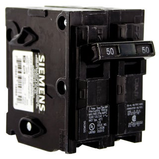 Siemens Q250 50 Amp Double Pole Circuit Breaker