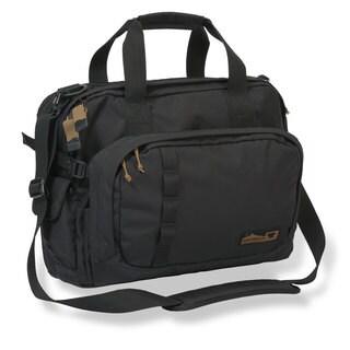 Mountainsmith Adventure Office Black Nylon Large Briefcase Messenger Bag
