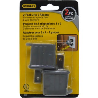 Stanley 30397 3 To 2 Adapter 2-count