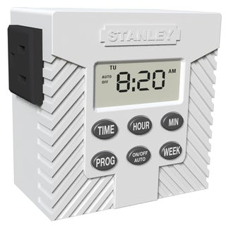 Stanley 31200 Single Outlet Weekly Digital Timer