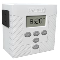Stanley 31207 Single Outlet Daily Digital Timer