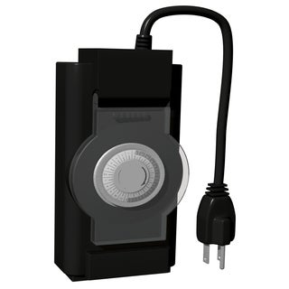 Stanley 31214 2 Outlet Outdoor Mechanical Timer