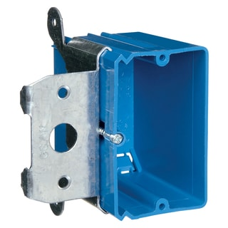 Carlon Lamson & Sessons B121ADJ Single Gang Adjust-A-Box Work Box
