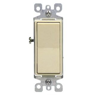 Leviton S11-5604-2IS Ivory Residential Grade Decora 4-Way AC Quiet Switch Rocker