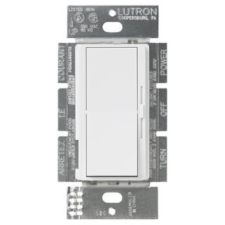 Lutron DV-600PH-WH 600 Watt White Diva Dimmer