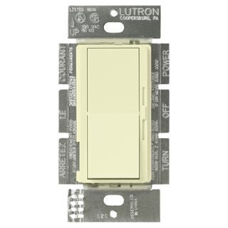 Lutron DV-603PH-AL 3-Way Almond Color Diva DImmer