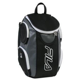 Fila Ultimate Tennis Backpack with Shoe Pocket (Option: Black)