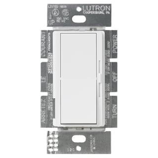 Lutron DV-603PH-WH 3-Way White Diva Dimmer