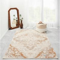 "Momeni Amelia Machine Made Polypropylene and Polyester Area Rug - 7'10"" x 9'10"""