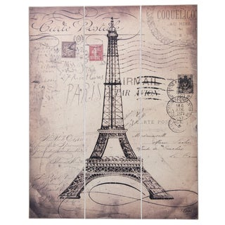 Eiffel Tower Slatwall Sign
