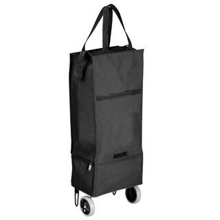 Goodhope Black Rolling Cooler Shopper & Tote Bag